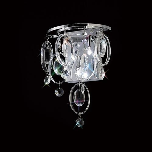 Solana Crystal Triple Wall Light Il31350