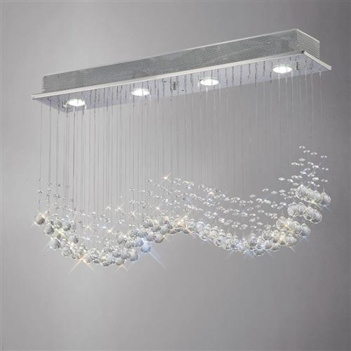Colorado Crystal 4 Light Pendant Il31379