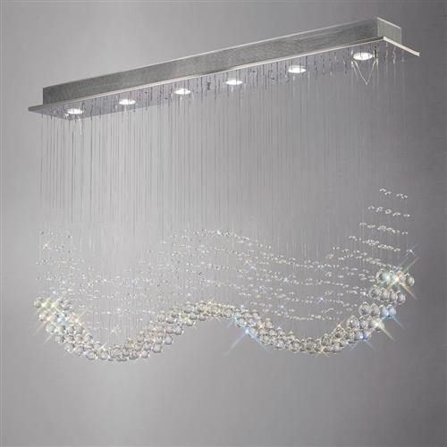 Colorado Crystal Ceiling Light Il31380