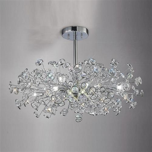 Savanna Crystal Ceiling Light Il31404 The Lighting Superstore