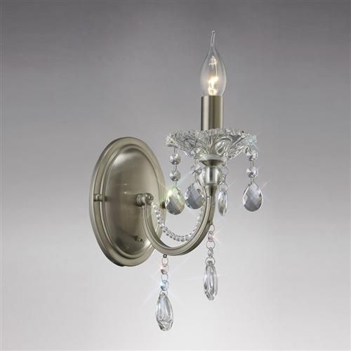 Leana Crystal Single Wall Light Il32081