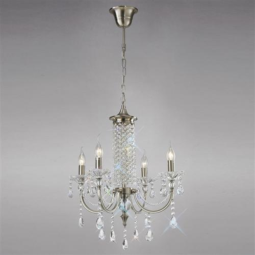 IL32084 Leana Crystal Multi Arm 4 Light