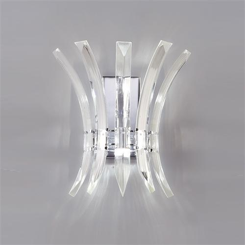 Sinclair crystal wall light il50440 the lighting superstore sinclair crystal wall light il50440 mozeypictures Images