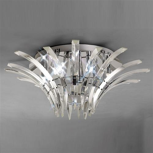 Sinclair crystal ceiling light il50442 the lighting superstore sinclair crystal ceiling light il50442 aloadofball Images