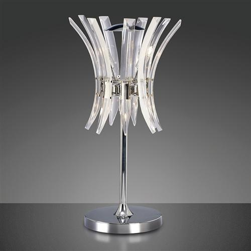 Sinclair 4 Light Crystal Table Lamp Il50446
