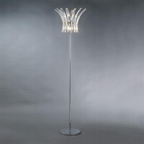 Sinclair 4 Light Crystal Floor Lamp Il50447