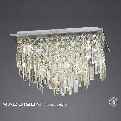 IL30252 Maddison Crystal Ceiling Light