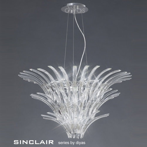 IL50445 Sinclair Crystal Pendant
