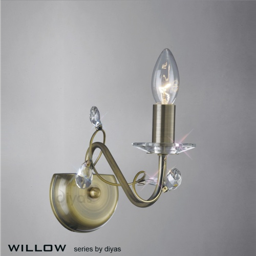 IL31221 Willow Single Wall Light