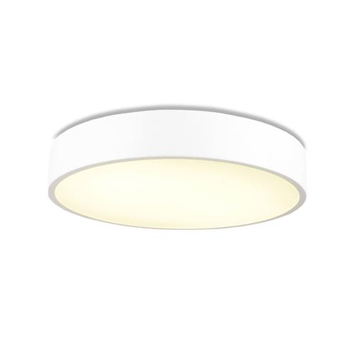Cumbuco LED Flush White Large Round Ceiling Fitting M6151