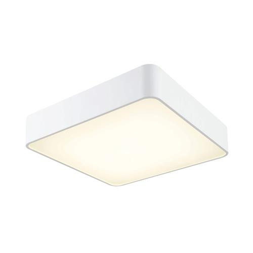 Cumbuco 4000K LED Small White Square Ceiling Fitting M5502