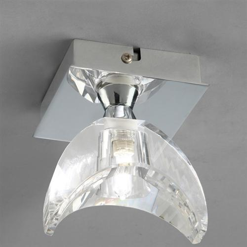M1457 Eclipse Optical Glass Flush Ceiling Light