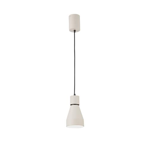Kos Fusion Small Matt White Pendant Fitting M5621