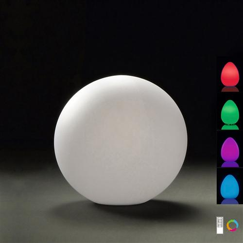 Small Contemporary Colour Changing Outdoor Table Lamp M1390
