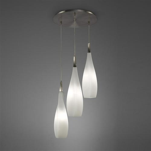 Neo Triple Glass Pendant Light M3573