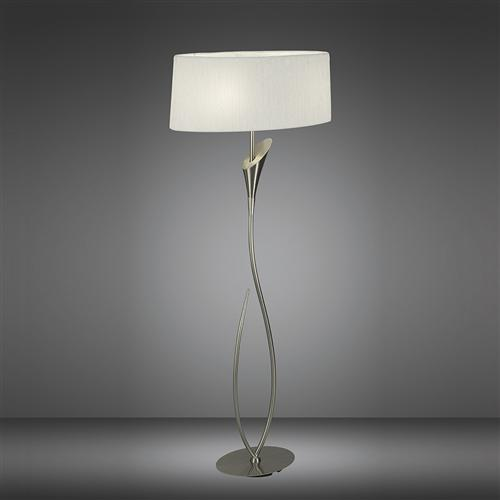 Lua Contemporary Floor Lamp The, Contemporary Floor Lamp With Table