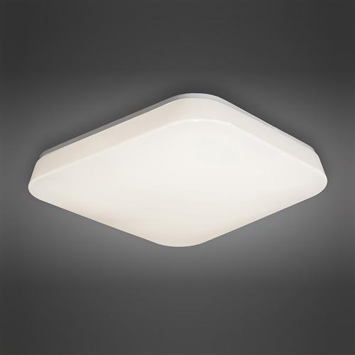 Modern Quatro LED Flush Fitting Ceiling Light M3765