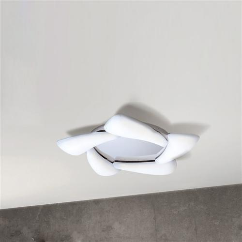 M3807 Contemporary Mistral Flush Fitting Ceiling Light