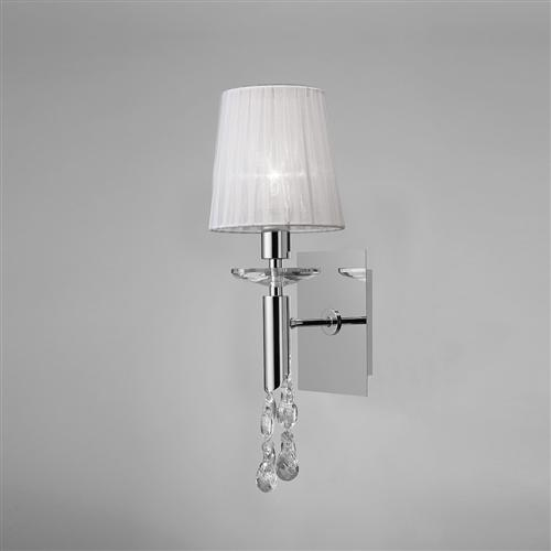 Tiffany Crystal Single Wall Light The Lighting Superstore