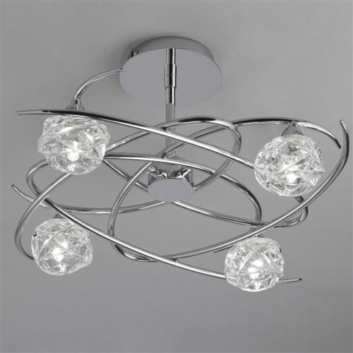 Maremagnum Semi-Flush Chrome 4 Light M3943
