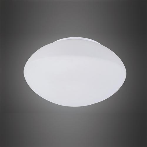 Contemporary Opal Semi Flush Fitting Ceiling Light M4897