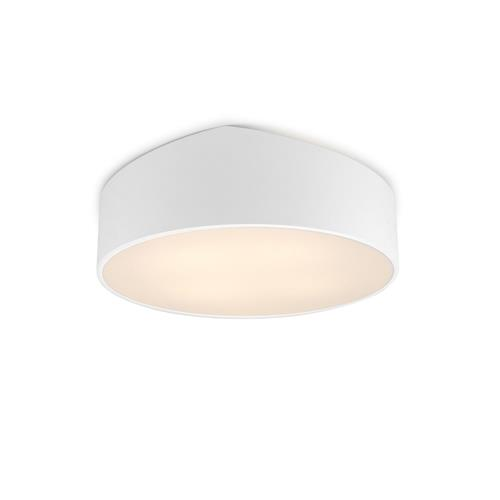 Mini Small Matt White Five Light Round Slanted Ceiling Fitting M6168