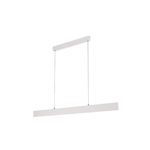 Petaca LED Matt White Linear Pendant Light M5490
