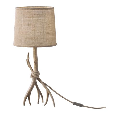 Sabina Wood Effect Table Lamp M6181