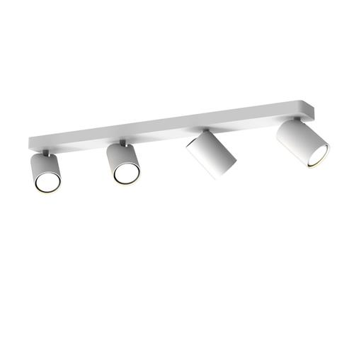 Sal Matt White Four Head Ceiling Spotlight M6280