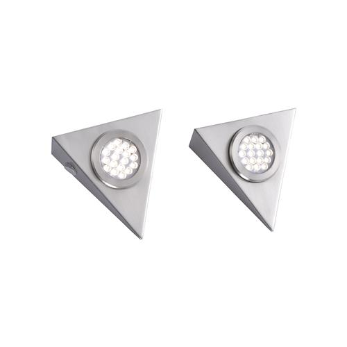 1119-55-2 Helena LED Pack Of Two Under Cabinet Lights
