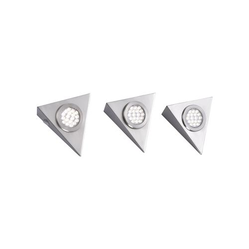 Helena LED Pack Of Three Under Cabinet Lights 1119-55-3