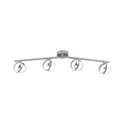 Tom LED Steel Ceiling Spot 8 Light 11264-55