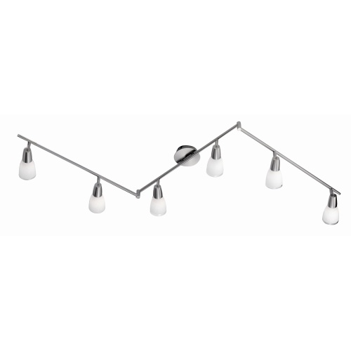 Dora Stainless Steel Ceiling 6 Light 11846-55