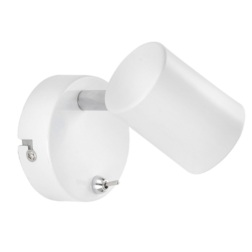 White Dimmable Wall Lights : Tarik White LED Wall Spotlight 11941-16 The Lighting Superstore