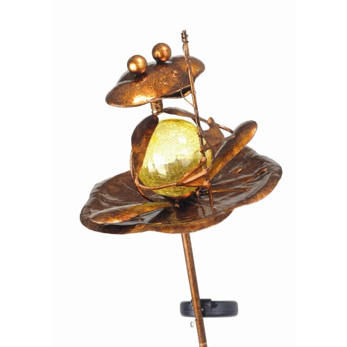 19814-48 Frosch Solar Light Bronze