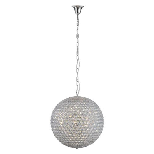 2030-17 Anthe Large Crystal Ceiling Pendant