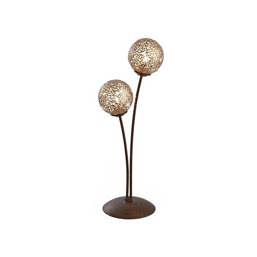 4032-48 Greta Rust Coloured Table Lamp