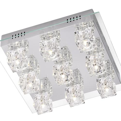 50286-17 Takos Colour Changing LED And Halogen Ceiling Light
