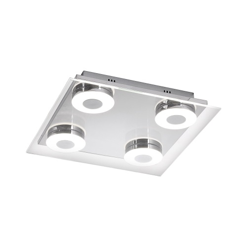 Kelani LED Chrome Ceiling 4 Light 6033-17