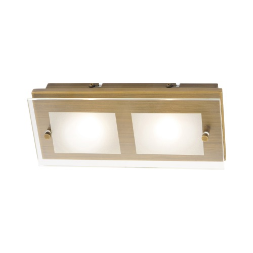 6034-11 Chiron Old Brass Ceiling/wall Light