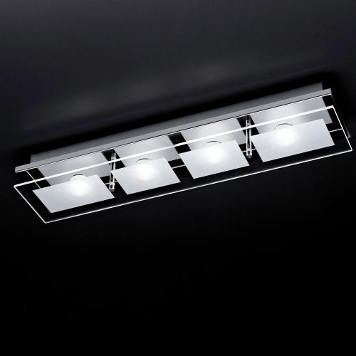 Chiron LED Chrome Ceiling Light 6055-17