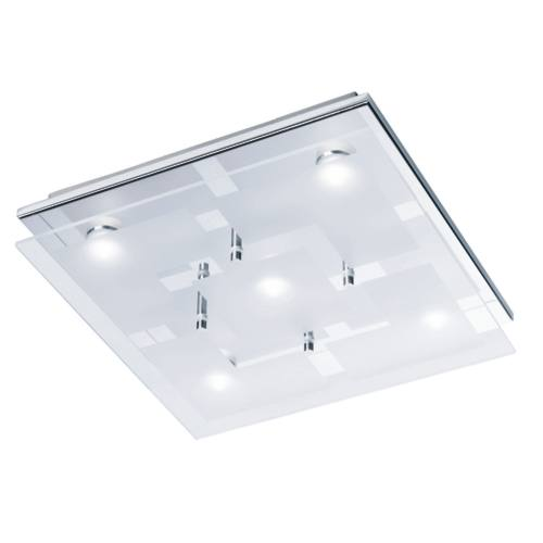 6105-17 Chiron Flush LED Ceiling Light