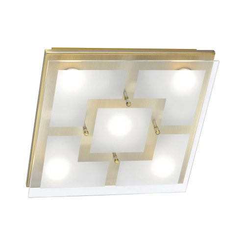 Chiron Large LED Square Ceiling Light 6116-11