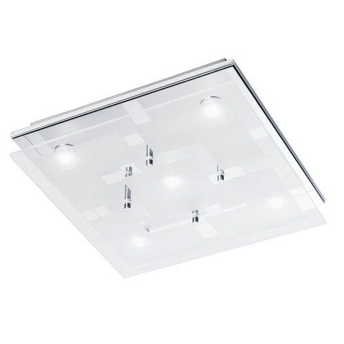 Chiron LED Ceiling Light 611617  The Lighting Superstore -> Table Carre Led