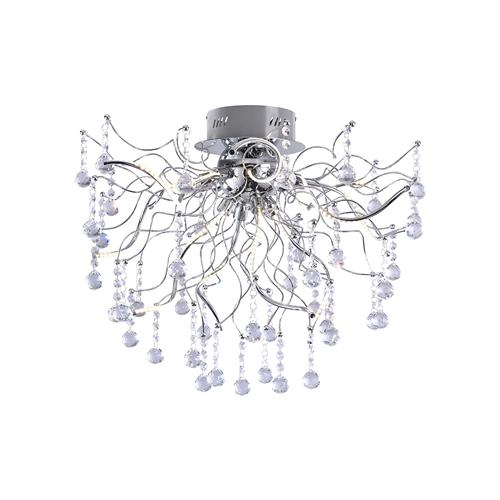6501-17 Nelli LED 12 Light Crystal Ceiling Light