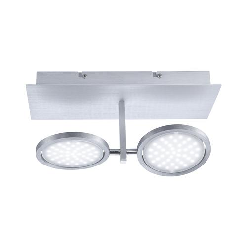 Orbit Aluminium LED Double Ceiling Light 6802-95