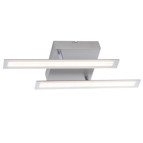 6952-55 Twist LED Steel Double Ceiling Light