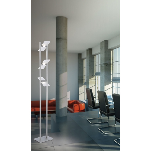 801-95 Pukka LED Aluminium Floor Lamp