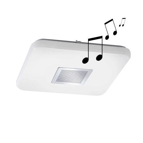 Pelvo LED White Flush Ceiling Light 8071-16