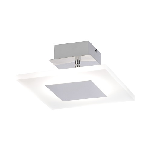 Adali Chrome LED Ceiling Light 8073-17